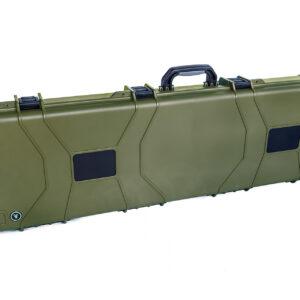 maleta verde para fuzil